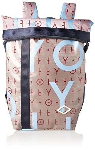 Oilily Damen Lori Backpack Mvf Rucksack, Grau (Grey), 13x36x22 cm