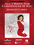 All I Want For Christmas Is You - EASY PIANO Sheet Music