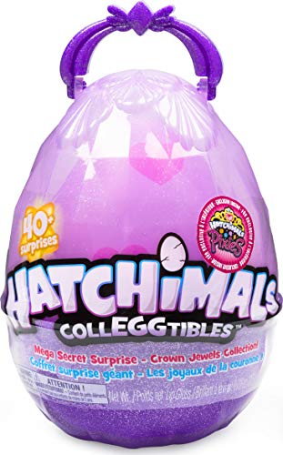 Hatchimals CollEGGtibles, Mega Secret Surprise with 10 Exclusive and 1 Pixies Royal