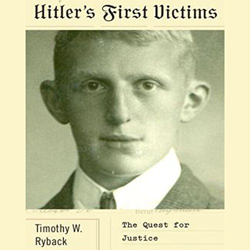 Hitler's First Victims audiobook cover art