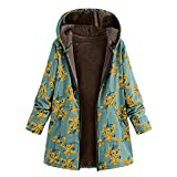 LISTHA Vintage Hooded Coat Women Floral Hoodie Jackets Winter Oversize Outwear