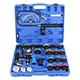 Honhill Universal Radiator Pressure Tester & Vacuum Type Coolant System Tester Kit with Storage Case 28pcs