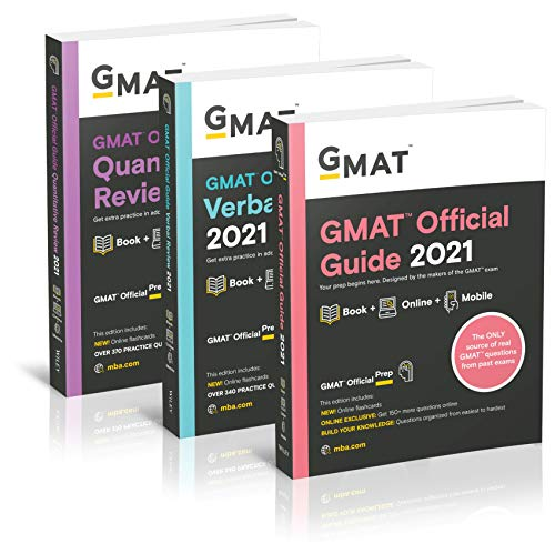 GMAT Official Guide 2021: Books + Online + Mobile: Books + Online Question Bank