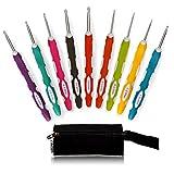 Best Ergonomic Crochet Hooks - LAYOER 9 PCS Crochet Hooks Set Ergonomic Review
