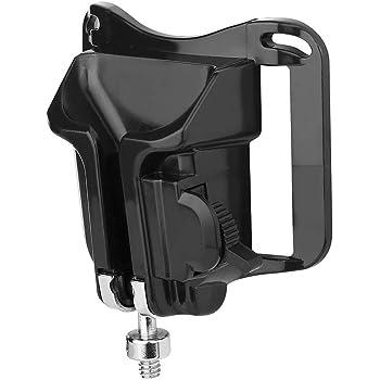 Metal Hanger 1//4in Screw Mount Quick Release Waist Belt Buckle Holder Acouto DSLR Camera Plastic