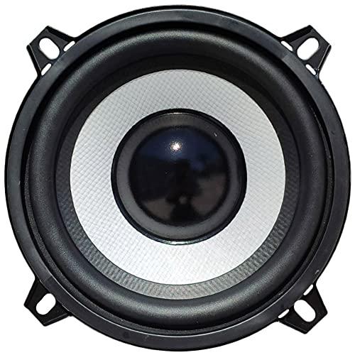 """1 MASTER AUDIO MA13BT/4 Altavoz woofer Blanco Profesional 13,00 cm 130 mm 5"""" 80 vatios rms 160 vatios máx 4 ohmios sensibilidad 91 db suspensión de Goma, 1 Pieza"""
