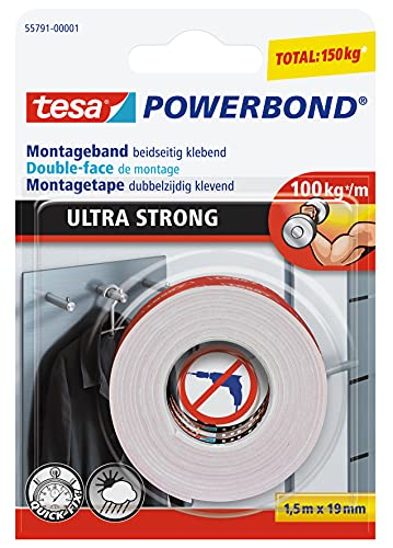 tesa Powerbond Ultra Fuerte: cinta de do...