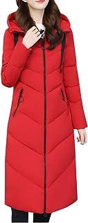 Poachers Sudaderas Mujer Abrigo de algodón Acolchado de Manga Larga con Capucha Color Liso para Mujer cárdigans para Mujer...