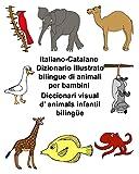 Italiano-Catalano Dizionario illustrato bilingue di animali per bambini Diccionari visual d'animals infantil bilingüe