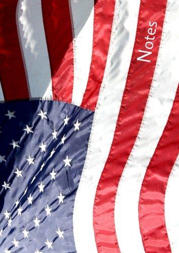 Notizbuch A4 - kariert - Amerikaflagge / USA / Amerika: DIN A4 - Tagebuch - reisen
