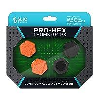 Sliq Gaming プロヘックス サムスティックグリップ Xシリーズ X|S & Xbox Oneコントローラー用