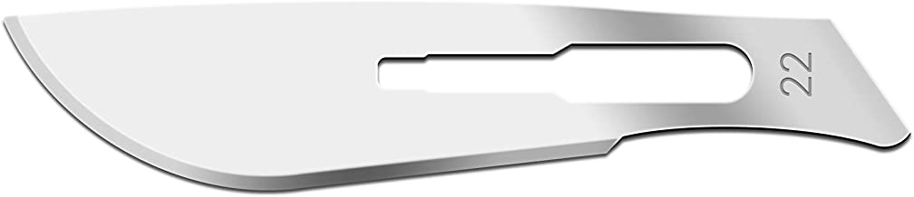 IMS IMS-CBLD22 Scalpel Sterile Blades #22 Carbon Steel Individually Foil Wrapped, Box of 100