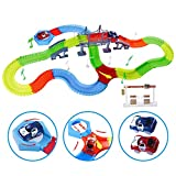 Kuultoy Tracks Magiques Circuit de Voiture Flexible, Magic Circuit Voiture...