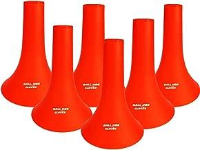Ball Hog Gloves Basketball Training Cones (6 Pack) (Basketball Training Aid)