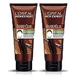 L'Oreal Paris Men Expert Crema de Peinado Efecto Natural Barber Club - Pack de 2 x 100 ml