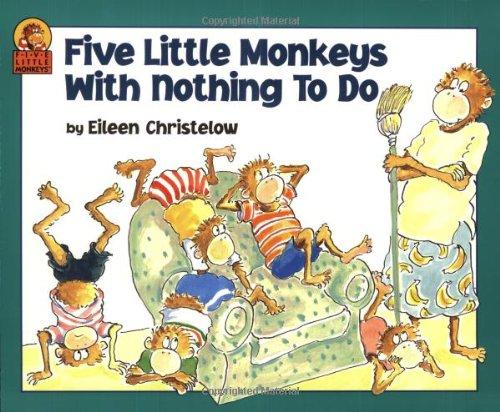 Five Little Monkeys with Nothing to Do (A Five Little Monkeys Story)の詳細を見る