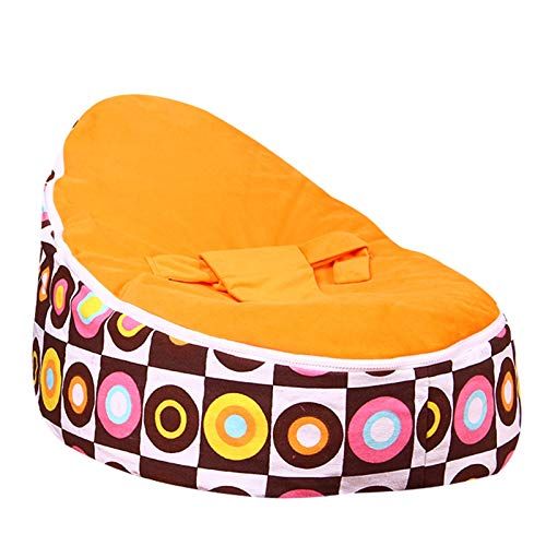 QEEN Beanbag Bean Bag Chair Kids Bed For Sleeping Portable Folding Child Seat Sofa Without The Filler (Color : T5)
