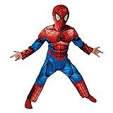 Rubie's it620681- Costume Ultimate Spiderman con Muscoli, L