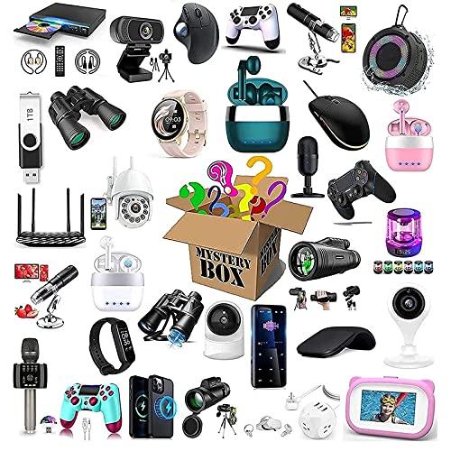 Beylore Mystery Box electrónica, caja sorpresa de precio, bolsa de regalo de la suerte, todo tipo de cosas aleatorias: teléfonos móviles