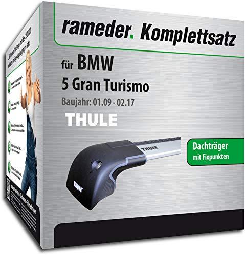 rameder Juego completo, Baca Wingbar Edge para BMW 5GRAN TURISMO (136698–08274–1)