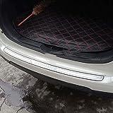 QQY Protezione Paraurti Posteriore, per Nissan Qashqai J10 J11 2008-2015 Auto Tronco AntiGraffio Fasce Decorative Protettive personalità Accessori, Acciaio Inossidabile