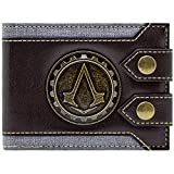 Ubisoft Assassins Creed Syndicate Jacob Logo Braun Portemonnaie Geldbörse