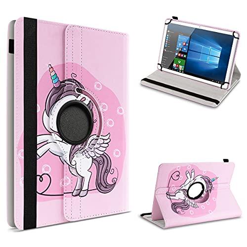 UC-Express Schutzhülle kompatibel für Archos 101 Platinum 3G Tablet Hülle Tasche Hülle Cover 360° Drehbar, Farbe:Motiv 15