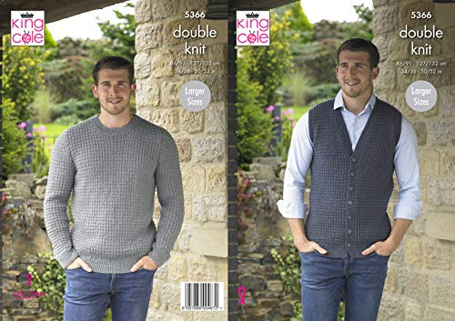 King Cole 5366 Knitting Pattern ...