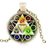 Hyrule Fashion Jewelry The Legend of Zelda - Halskette/Kette - Triforce | Ocarina of Time | Breath of The Wild