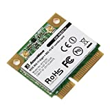 AzureWave AW-NB087H Ralink RT3290 Chipset IEEE 802.11 b/g/n 150Mbps with Bluetooth 3.0HS Half Size MINI PCIe Wi-Fi Card