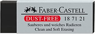 Faber-Castell 187121 - Gum stofvrij, kunststof, zwart