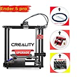 Creality Ender 5 Pro Official New Upgrade with Silent Mainboard/Metal Extruder/PTFE Tube