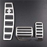 KJHDKJFH Accesorio de Coche Reposapiés del Acelerador Modificado Pedal Pad Refit Sticker.para Land Range Rover Sport/Discovery 3 4 LR3 LR4