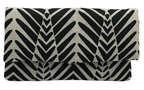 Plan B portemonnee Basic Zebra, 17 x 10 cm, 3 ritssluitingen, beige met tekeningen
