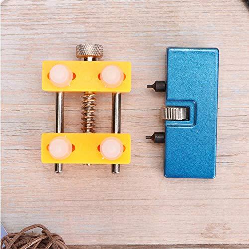 Removedor de tapa de reloj Acero inoxidable resistente al agua Adecuado para relojes de diferentes tamaños con resistente al agua