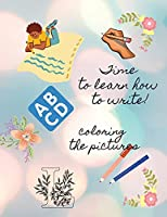 Easy learn how to write letters