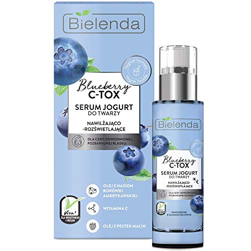 BLUEBERRY C-TOX - Optimally Moisturizes Dry Epidermis Reduces The Feeling Of Tightness And Discomfort - Blueberry C-Tox Serum Moisturizing And Illuminating - 30 ml