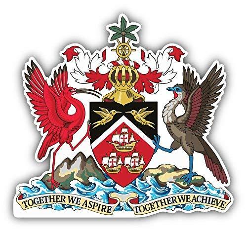 DG Graphics Trinidad and Tobago Coat of Arms Art Decor 5