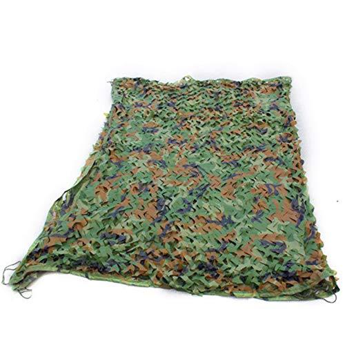 LDFZ Camouflage-net – 210D Oxford-weefsel – jachtbroeikas met net voor zonwering – afdekzeil/auto plaatsgordijnen/raamdecoratie