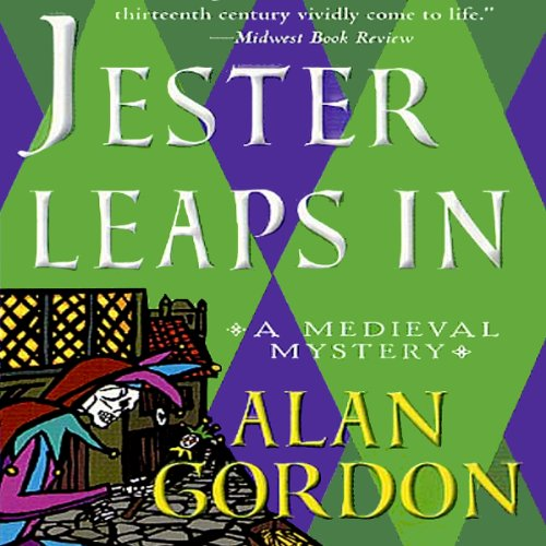 Jester Leaps In audiobook cover art