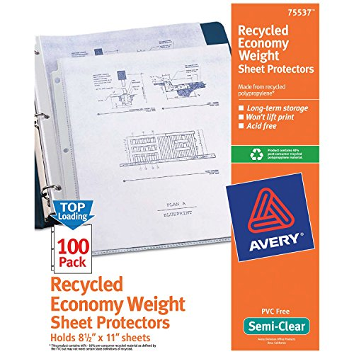 Archival Recycled Sheet Protector - 1