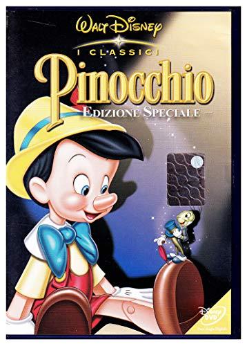 Pinocchio Walt Disney BUENA VISTA OLOGRAMMA TONDO