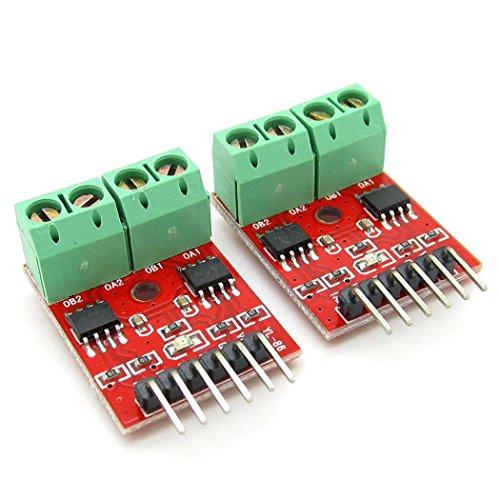 2 X Super Small PCB Board Arduino H-Bridge L9110 DC/Stepper 2 Way Motor Driver Module
