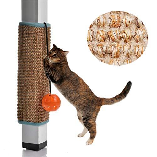 LJSLYJ Scratching Board Mat Pad Katze Schleife Teppich Scratcher Indoor Möbel Tisch Stuhl Sofa Beine Protector Pet Spielzeug, Zweifarbig