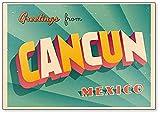 Kühlschrankmagnet, Motiv: Cancun, Mexiko