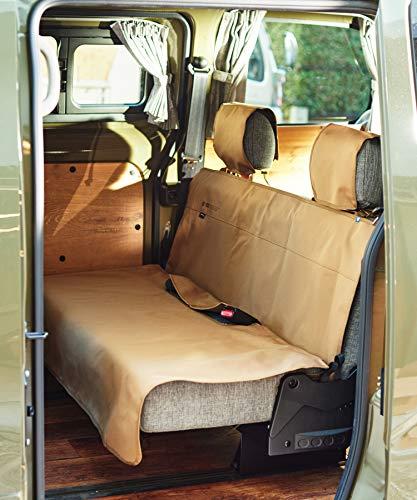 GORDON MILLER CORDURA REAR SEAT COVER ゴードンミラー コーデュラ リア シートカバー リアシート用 耐久撥水加工 車 防水 アウトドア キャンプ ベージュ コヨーテ 1642444
