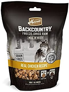 Merrick 1 Pouch Backcountry Chicken Recipe Freeze Dried Meal Mixer, 12.5 oz by Merrick