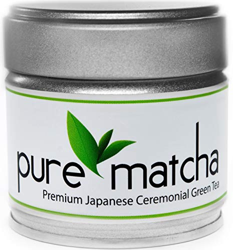 Pure Matcha, Premium Ceremonial Grade Matcha Green Tea Powder | Japanese Origin | First Harvest