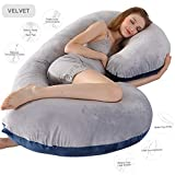 Pregnancy Pillow, 52 inches Full Body Pillow Maternity Pillow for Pregnant Women, Comfort C Shaped...