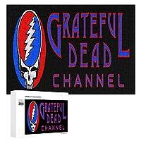 Grateful Dead 300ピースのパズル木製パズル大人の贈り物子供の誕生日プレゼント